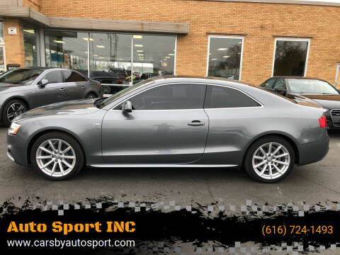 2016 Audi A5 for sale at Auto Sport INC in Grand Rapids MI