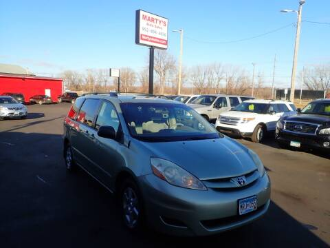 2006 Toyota Sienna for sale at Marty's Auto Sales in Savage MN