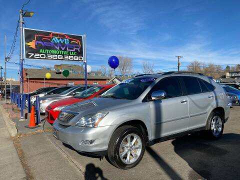 2009 Lexus RX 350 for sale at AWD Denver Automotive LLC in Englewood CO