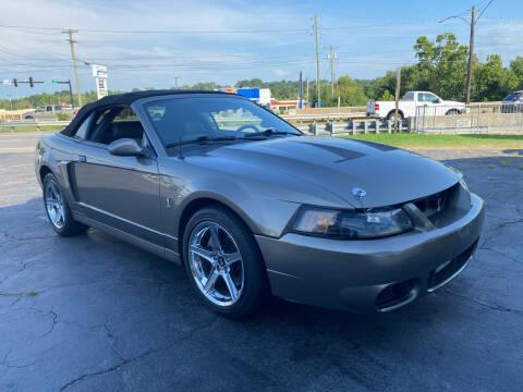 2003 Ford Mustang SVT Cobra for sale at Brian Jones Motorsports Inc in Danville VA