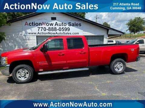 2008 Chevrolet Silverado 2500HD for sale at ACTION NOW AUTO SALES in Cumming GA