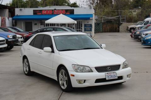2001 Lexus IS 300 for sale at Car 1234 inc in El Cajon CA