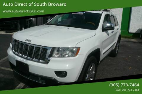 2013 Jeep Grand Cherokee for sale at Auto Direct of South Broward in Miramar FL