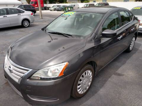 2013 Nissan Sentra for sale at AFFORDABLE AUTO SALES in We Finance Everyone! FL