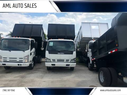 2008 Isuzu NQR/NRR for sale at AML AUTO SALES - Dump Trucks in Opa-Locka FL