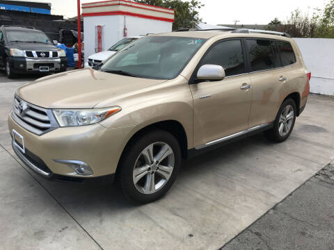 2011 Toyota Highlander for sale at Auto Emporium in Wilmington CA