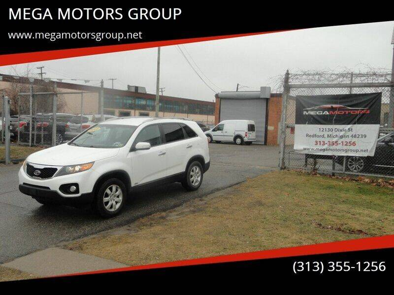 2011 Kia Sorento for sale at MEGA MOTORS GROUP in Redford MI