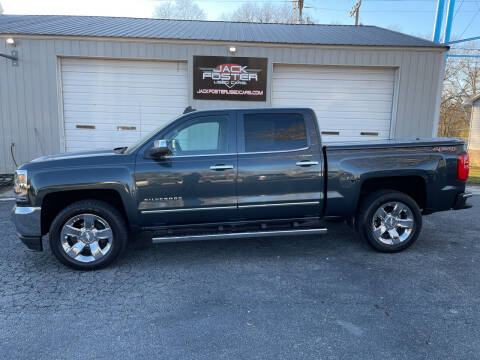 2017 Chevrolet Silverado 1500 for sale at Jack Foster Used Cars LLC in Honea Path SC