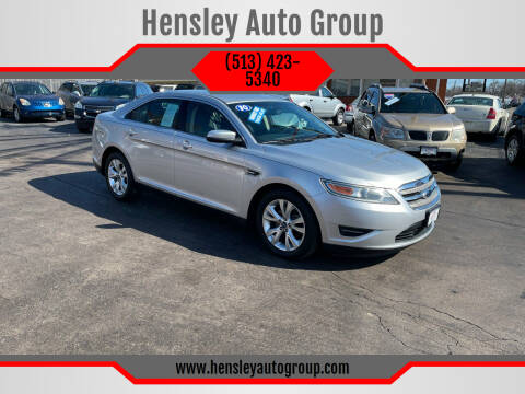 2010 Ford Taurus for sale at Hensley Auto Group in Middletown OH
