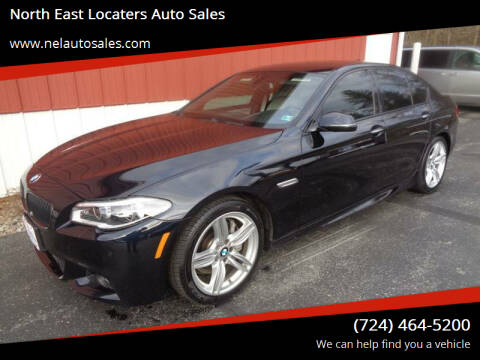 2014 BMW 5 Series for sale at North East Locaters Auto Sales in Indiana PA