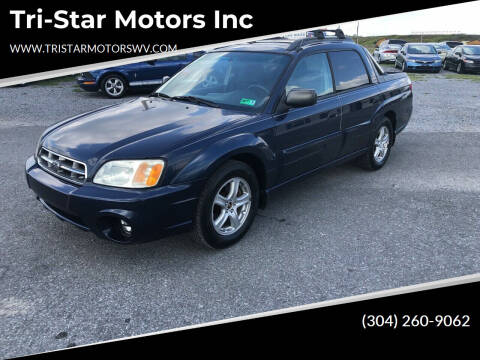 2003 Subaru Baja for sale at Tri-Star Motors Inc in Martinsburg WV