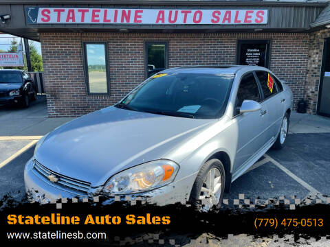 2011 Chevrolet Impala for sale at Stateline Auto Sales in South Beloit IL