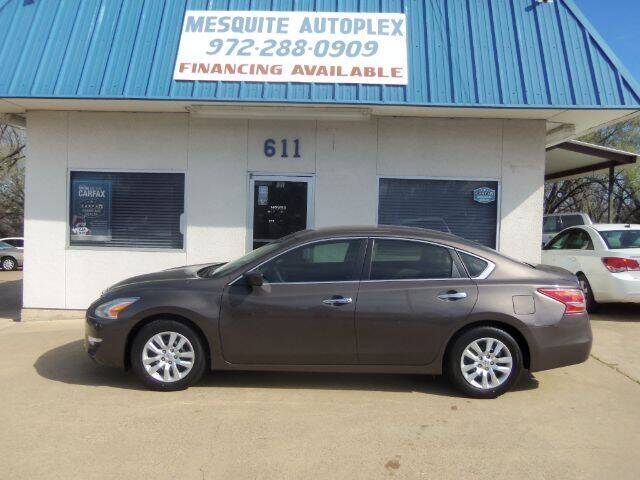 2014 Nissan Altima for sale at MESQUITE AUTOPLEX in Mesquite TX