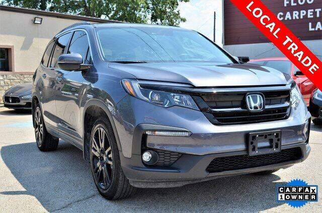 2021 Honda Pilot for sale at LAKESIDE MOTORS, INC. in Sachse TX