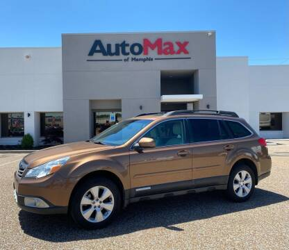 2011 Subaru Outback for sale at AutoMax of Memphis in Memphis TN