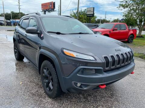 2016 Jeep Cherokee for sale at Marvin Motors in Kissimmee FL