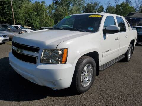 2007 Chevrolet Avalanche for sale at CENTRAL AUTO GROUP in Raritan NJ