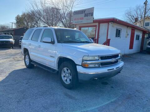 2003 Chevrolet Tahoe for sale at Crosby Auto LLC in Kansas City MO