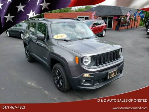 2016 Jeep Renegade for sale at D & D Auto Sales Of Onsted in Onsted   Brooklyn MI