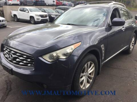 2009 Infiniti FX35 for sale at J & M Automotive in Naugatuck CT