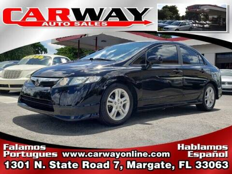 2008 Honda Civic for sale at CARWAY Auto Sales in Margate FL