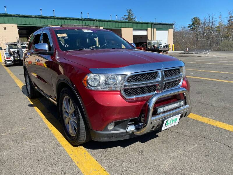 2013 Dodge Durango for sale at Irving Auto Sales in Whitman MA