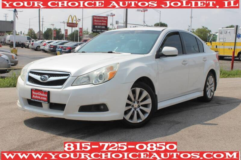 2011 Subaru Legacy for sale at Your Choice Autos - Joliet in Joliet IL