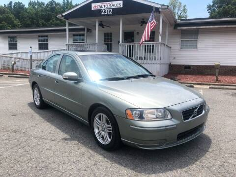 2007 Volvo S60 for sale at CVC AUTO SALES in Durham NC