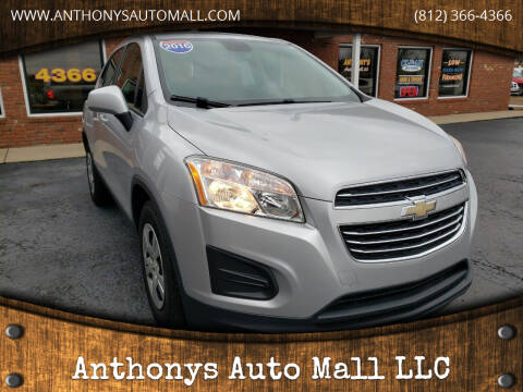 2016 Chevrolet Trax for sale at Anthonys Auto Mall LLC in New Salisbury IN