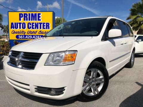 2010 Dodge Grand Caravan for sale at PRIME AUTO CENTER in Palm Springs FL