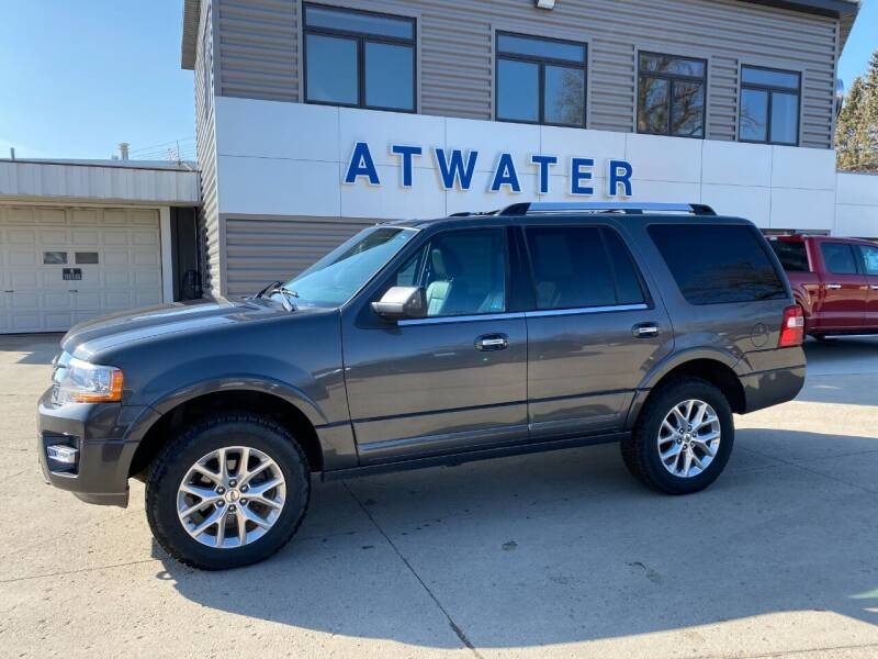 2015 Ford Expedition for sale at Atwater Ford Inc in Atwater MN