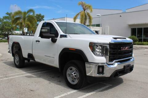 2020 GMC Sierra 2500HD for sale at Truck and Van Outlet in Miami FL