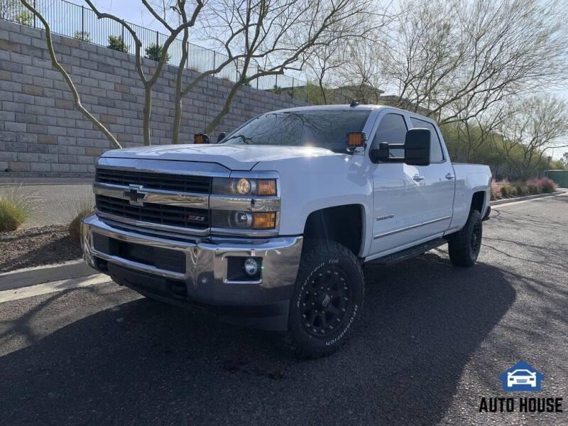 2015 Chevrolet Silverado 3500HD for sale at AUTO HOUSE TEMPE in Tempe AZ