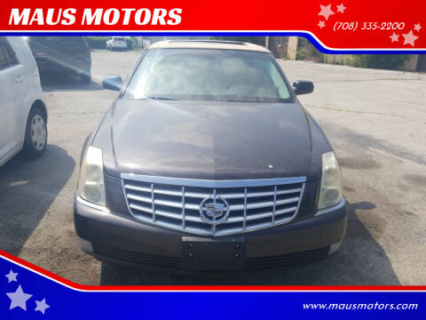 2009 Cadillac DTS for sale at MAUS MOTORS in Hazel Crest IL