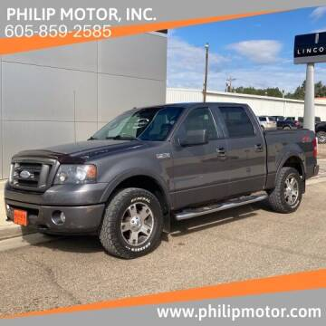 2007 Ford F-150 for sale at Philip Motor Inc in Philip SD