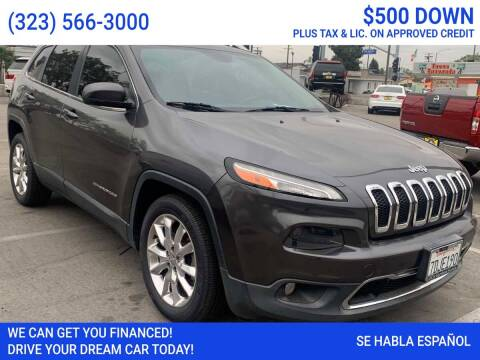 2014 Jeep Cherokee for sale at Best Car Sales in South Gate CA