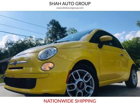 2012 FIAT 500 for sale at E-Z Auto Finance - E-Biz Auto in Marietta GA