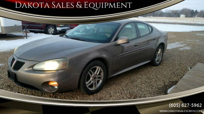 2006 Pontiac Grand Prix for sale at Dakota Sales & Equipment in Arlington SD