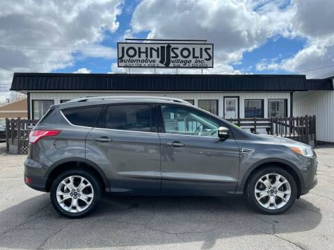 2016 Ford Escape for sale at John Solis Automotive Village in Idaho Falls ID