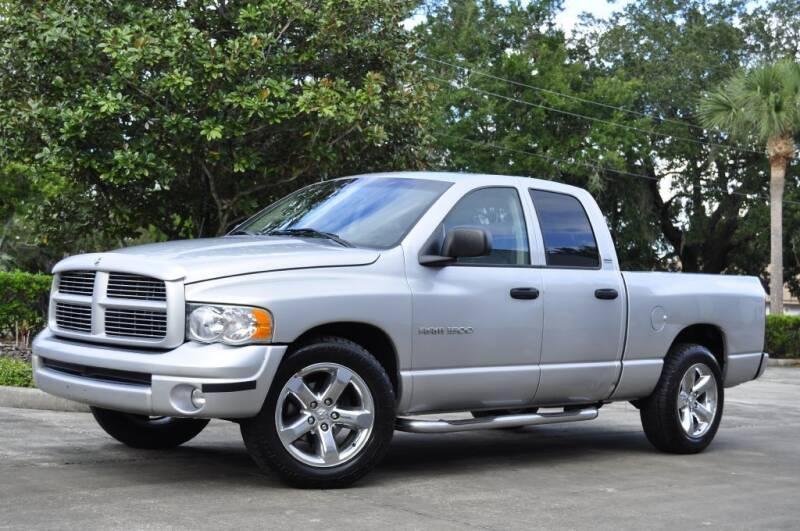 2002 Dodge Ram Pickup 1500 for sale at Vision Motors, Inc. in Winter Garden FL