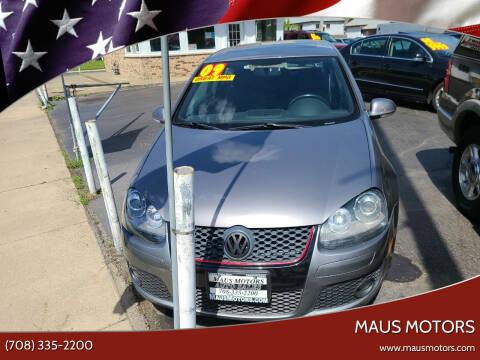 2009 Volkswagen GTI for sale at MAUS MOTORS in Hazel Crest IL