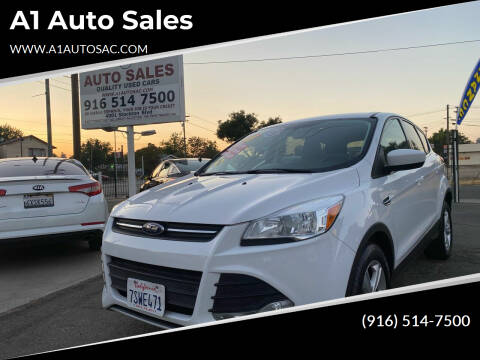 2016 Ford Escape for sale at A1 Auto Sales in Sacramento CA