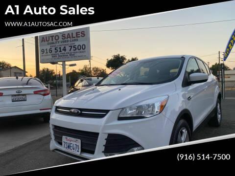 2016 Ford Escape for sale at A1 Auto Sales in Sacramento CA