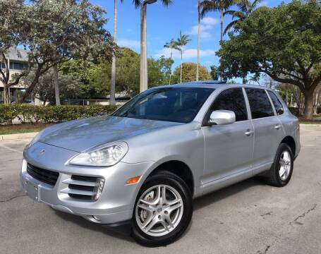 2008 Porsche Cayenne for sale at FIRST FLORIDA MOTOR SPORTS in Pompano Beach FL