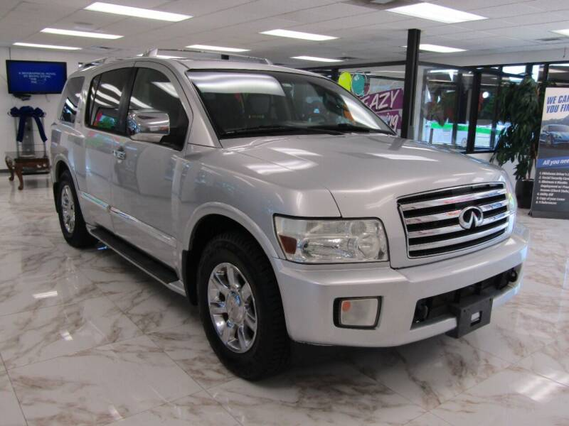 2004 Infiniti QX56 for sale at Dealer One Auto Credit in Oklahoma City OK
