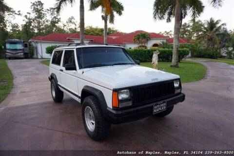 1993 Jeep Cherokee for sale at Autohaus of Naples Inc. in Naples FL