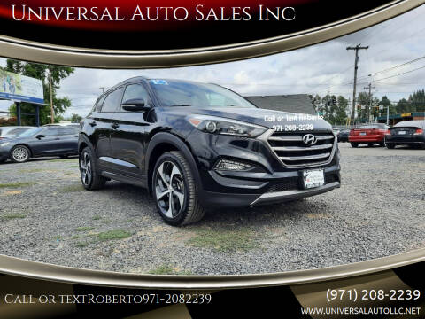 2016 Hyundai Tucson for sale at Universal Auto Sales Inc in Salem OR