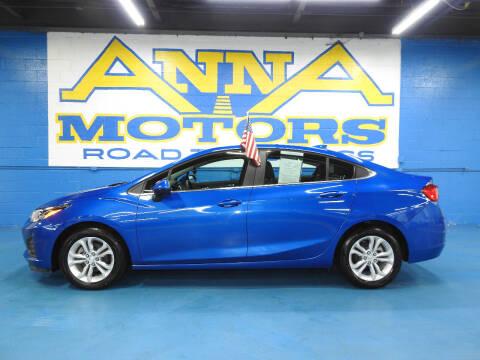 2019 Chevrolet Cruze for sale at ANNA MOTORS, INC. in Detroit MI