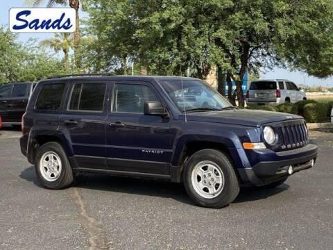 2016 Jeep Patriot for sale at Sands Chevrolet in Surprise AZ