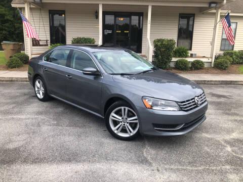 2014 Volkswagen Passat for sale at J. MARTIN AUTO in Richmond Hill GA